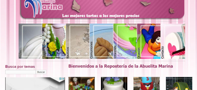 Website Abuelitamarina.com